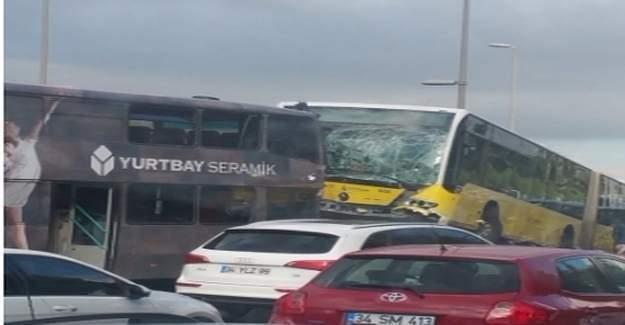 Acıbadem Metrobüs kazasına bakın ne neden olmuş?