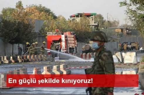 Afganistan'daki saldırılara Türkiye'den kınama mesajı