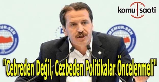 """Ali Yalçın: """"Cebreden değil, Cezbeden politikalar öncelenmeli"""""""