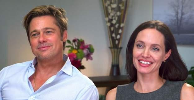 Brad Pitt Angelina Jolie çifti boşanıyor!