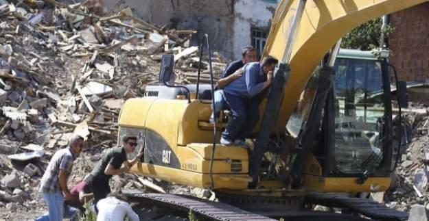 Ankara Çinçin'de yıkım gerginliği