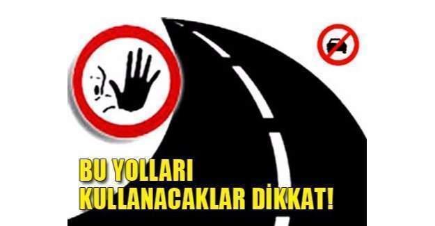 Ankara'da Bu yol 20 Gün Trafiğe Kapatılacak!