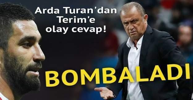 Arda Turan'dan olay cevap!