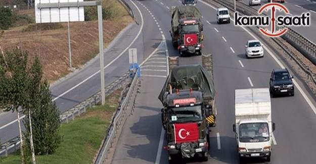 Askeri birliklerin taşınma işlemi tamamlandı