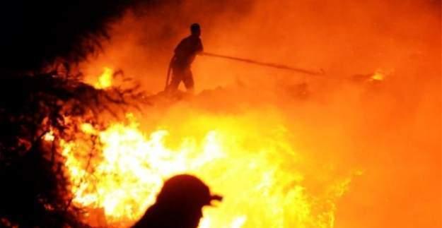 Bodrum'da Çöplükte Başlayan Yangın Söndürülemiyor!