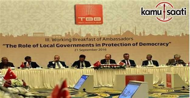 Büyükelçilerden Türkiye'ye destek