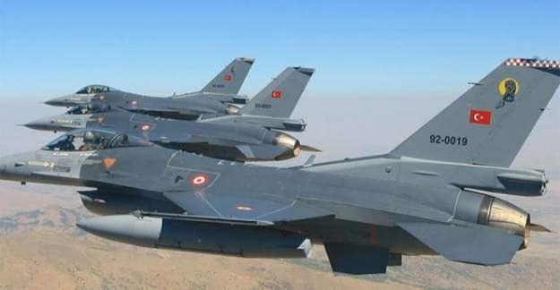 Çukurca ve Tendürek'te PKK'ya ait 10 hedef imha edildi