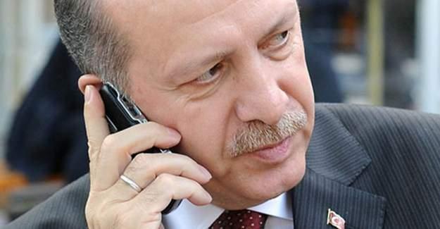 Cumhurbaşkanı Erdoğan Putin'le Telefonda Görüştü!