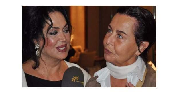 Fatma Girik ve Türkan Şoray Fenalaştı!