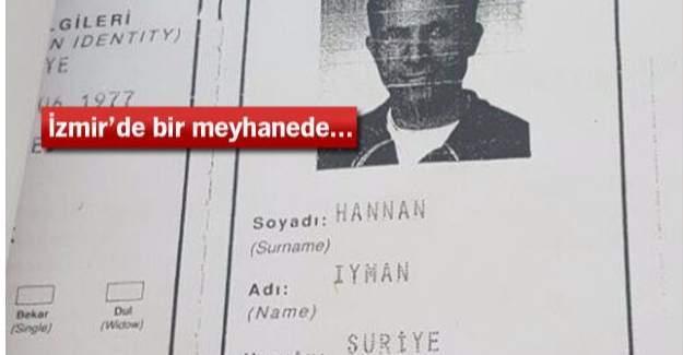 İnsan kaçakçısı Suriyeli meyhanede yakalandı