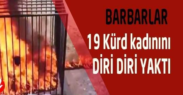 DAEŞ İlişkiyi Kabul Etmeyen 19 Kadını Diri Diri Yaktı!
