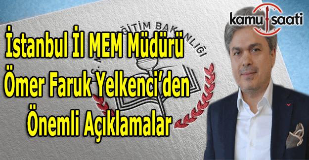 İstanbul'da kaç norm fazlası öğretmen var? Ömer Faruk Yelkenci açıkladı