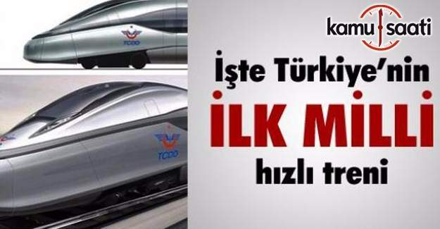 İşte Türkiye'nin yüksek hızlı treni