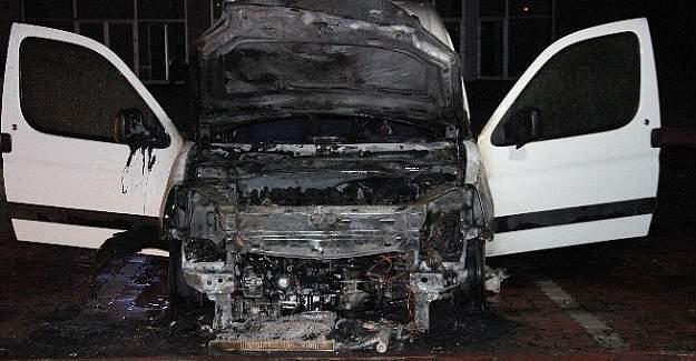 Konya'da bir saat içinde 7 araçta yangın çıktı
