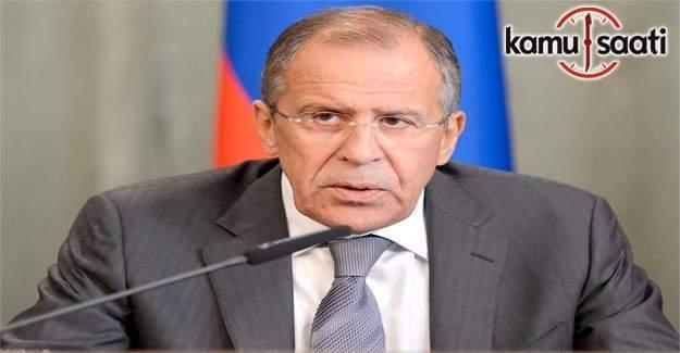 Lavrov: Batı, Türkiye'deki darbe girişiminde ve Ukrayna'daki darbede çifte standart uyguladı