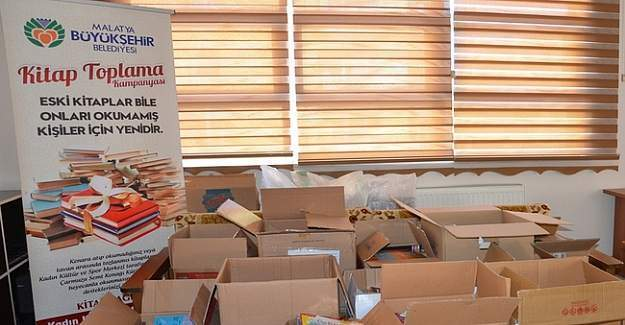 Malatya'da kitap toplama kampanyası