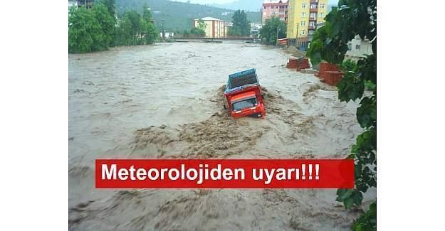 Meteoroloji'den Doğu Karadeniz ve Doğu Akdeniz için sel uyarısı