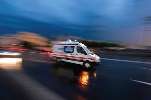 Otobüs şoförünü göğsünden bıçakladı