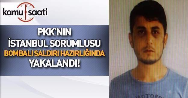PKK'nın İstanbul il sorumlusu yakalandı