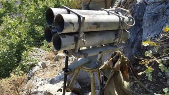 PKK'ya  ait çok namlulu silah(ÇNRA) ele geçirildi!