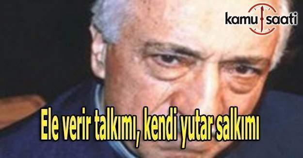Terörist Fethullah Gülen kendiyle çelişmeye doyamıyor