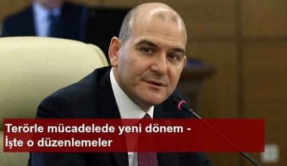 Terörle mücadelede yeni dönem - Bakan Soylu açıkladı