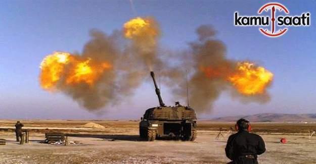 TSK: 5 DEAŞ'lı öldürüldü.26 hedefe 72 fırtına mermisi atıldı