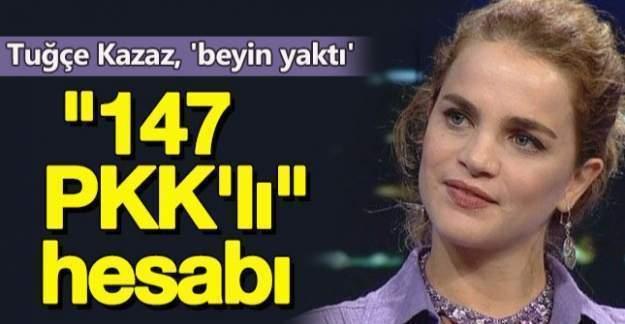 Tuğçe Kazaz'ın 147 Terörist Yorumu Alay Konusu oldu!