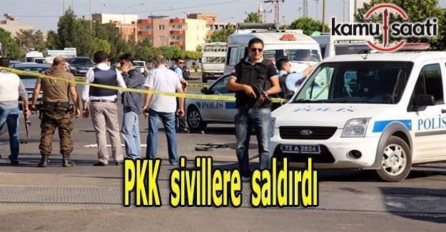 Tunceli'de PKK'lılar sivillere saldırdı