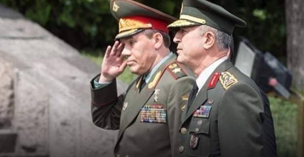 Türkiye, Rusya Genelkurmay Başkanları'ndan kritik anlaşma!