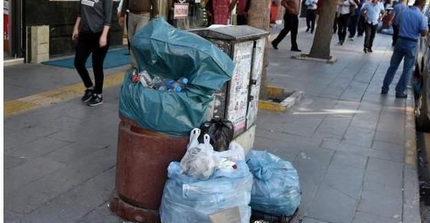 Van da çöpler toplanmıyor,şehir çöp yığını!