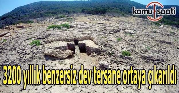 3200 yıllık benzersiz dev tersane ortaya çıkarıldı
