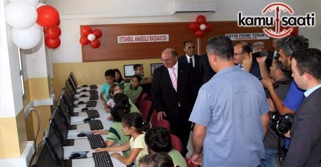 Adliye'nin 330 eski bilgisayarı okullara bağışlandı