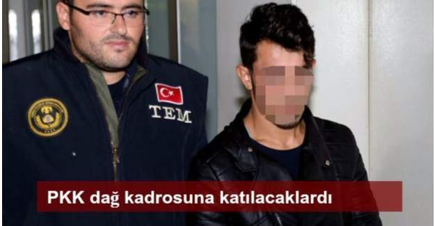 Aksaray'da 2 PKK'lı yakalandı