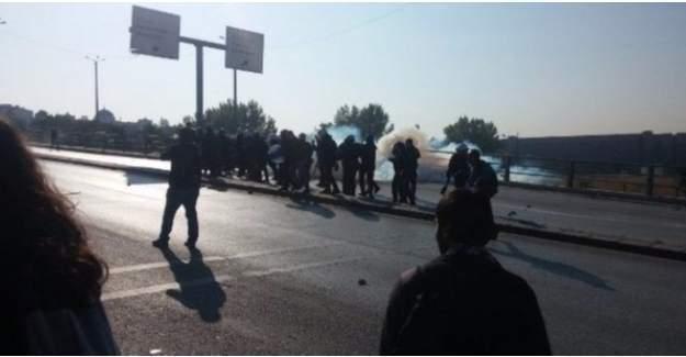 Ankara'da hareketli anlar: Polis müdahale etti