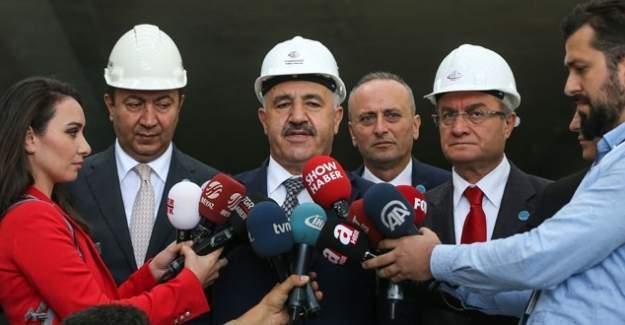 Bakan Ahmet Arslan bu projeyle Karadeniz'i Akdeniz'e bağlayacağız