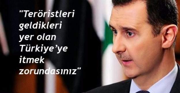 Beşar Esad: 3. Dünya Savaşı Suriye'de...