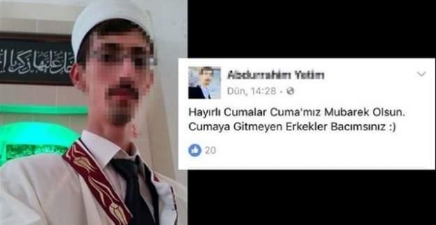 Cinsiyetci imam açığa alındı