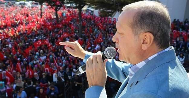 Cumhurbaşkanı Erdoğan Kazan'da: ''Meydanları bunlara bırakmayacağız.''