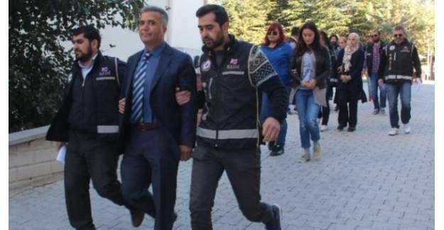DBP'li Belediye Başkanı dahil 13 kişi adliyeye sevk edildi