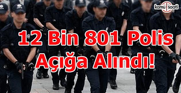 12 bin 801 polis açığa alındı - Açığa alınan polislerin isimleri açıklandı mı?