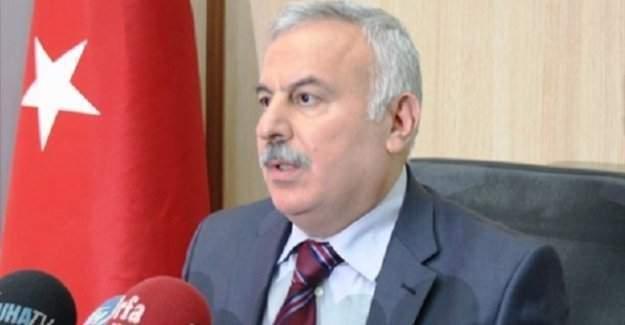 Harran Üniversitesi'nin eski rektörü İbrahim Halil Mutlu FETÖ soruşturmasından gözaltında