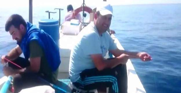 Hatay'da oltaya balık yerine gelen şey şaşırttı