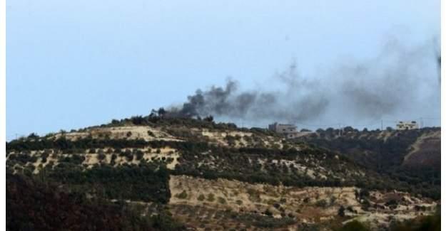 Hatay Yayladağı'na Suriye tarafından top mermisi atıldı