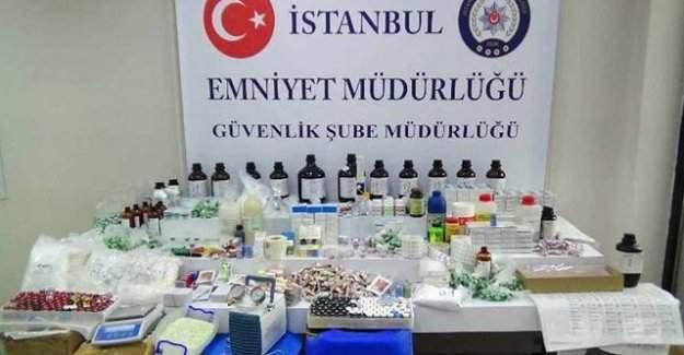 İstanbul'da 1 milyon liralık sahte ilaç operasyonu