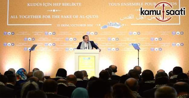 """""""Kudüs İçin Hep Birlikte"""" programı İstanbul'da başladı"""