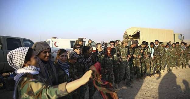 Musul'da DEAŞ'a operasyon öncesi halay