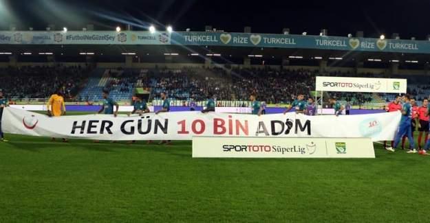 Obeziteye Türkiye Futbol Federasyonu'ndan destek