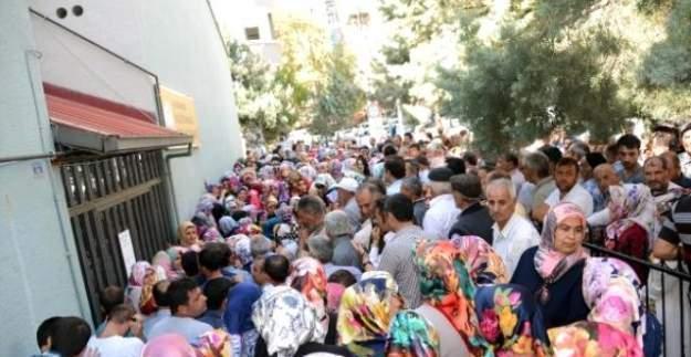 Okullarda 9 ay çalışması için 579 kişilik kontenjana 11 bin 821 kişi başvurdu