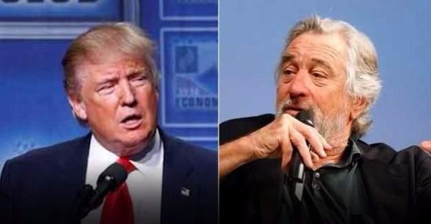 Oscarlı oyuncu Robert De Niro, Trump'ı fena aşağıladı